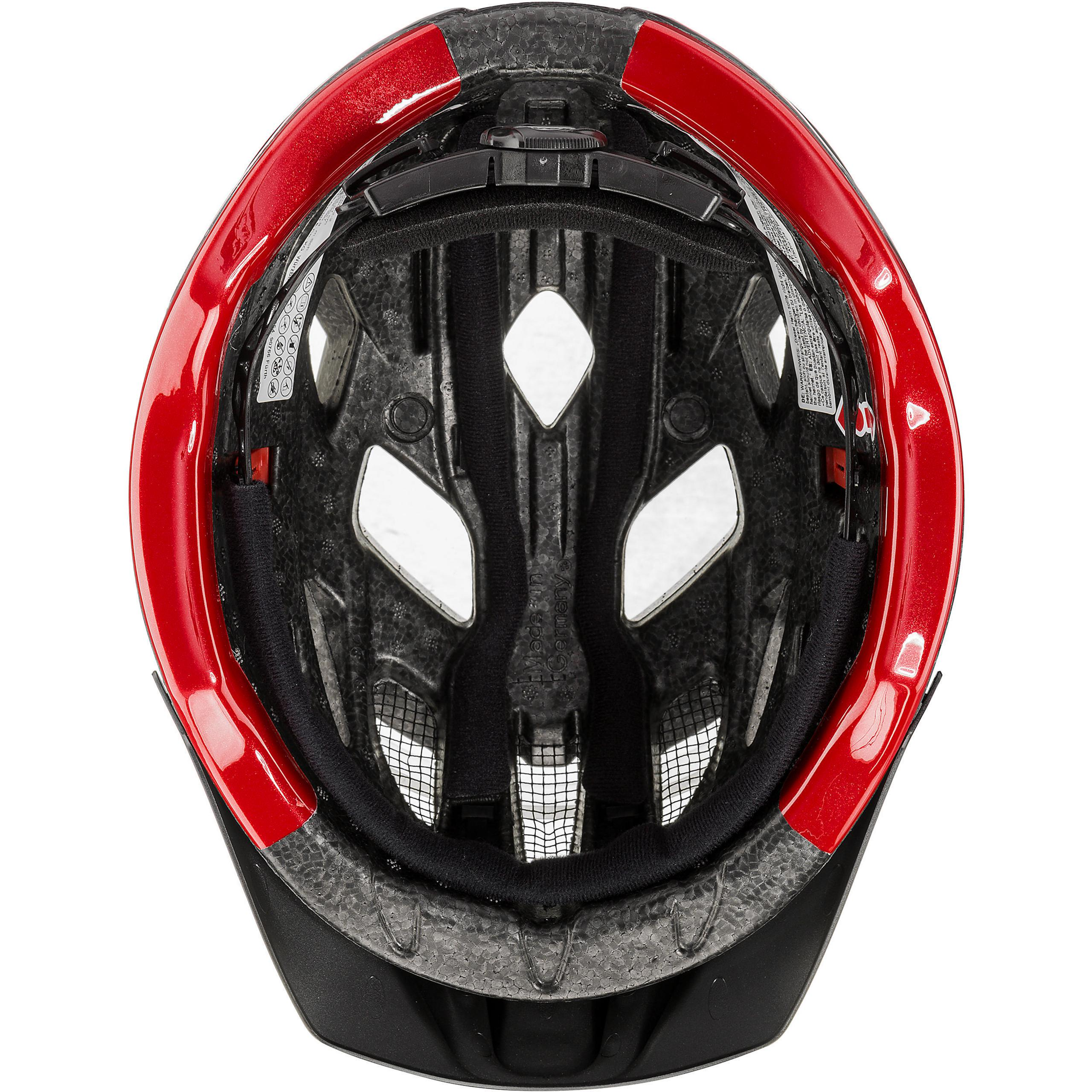 Top * Uvex Adultes Casque ACTIVE Taille 52-57 Cm anthracite-red