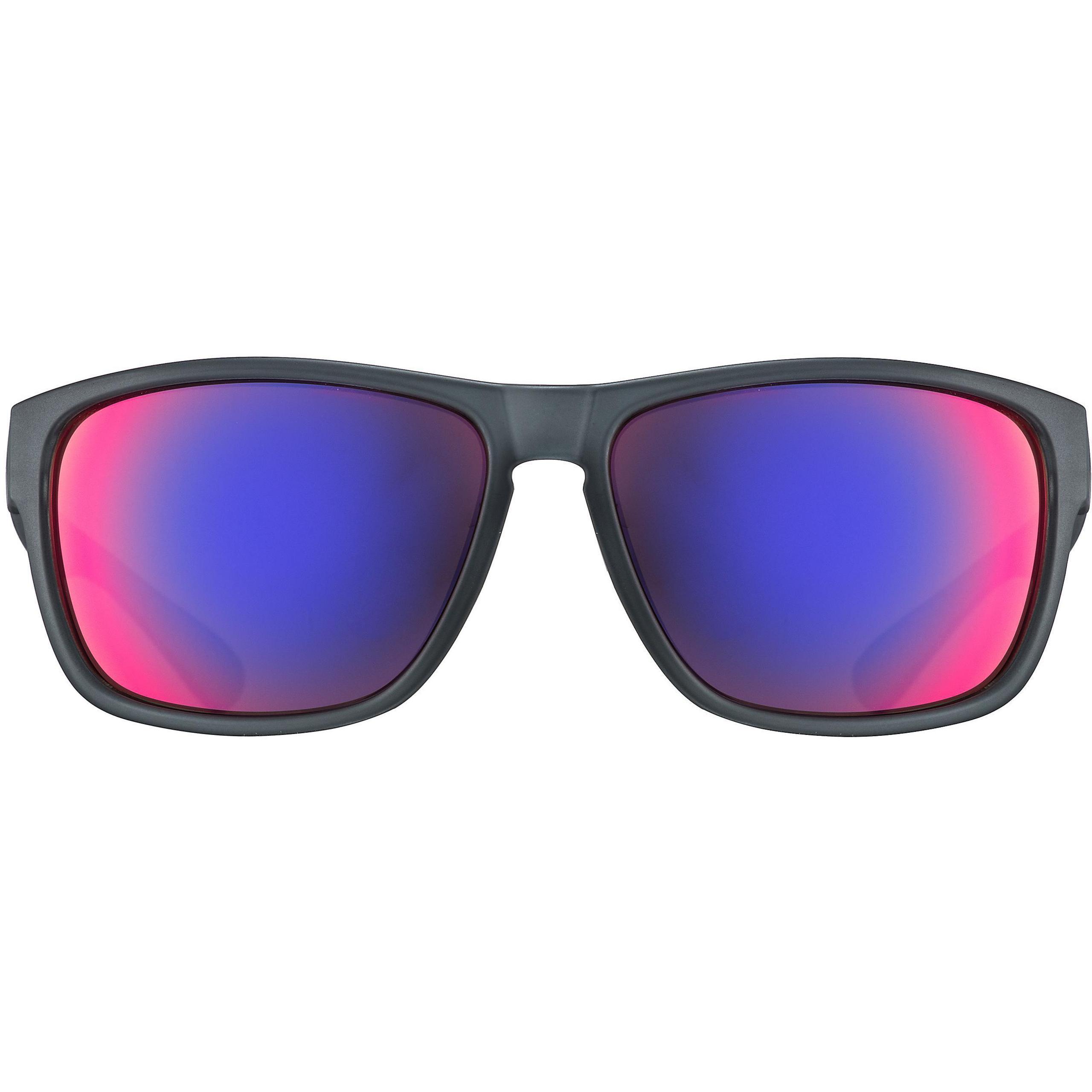Uvex lgl 36 CV Black//Mat Outdoor Blue Mat Sports Glasses
