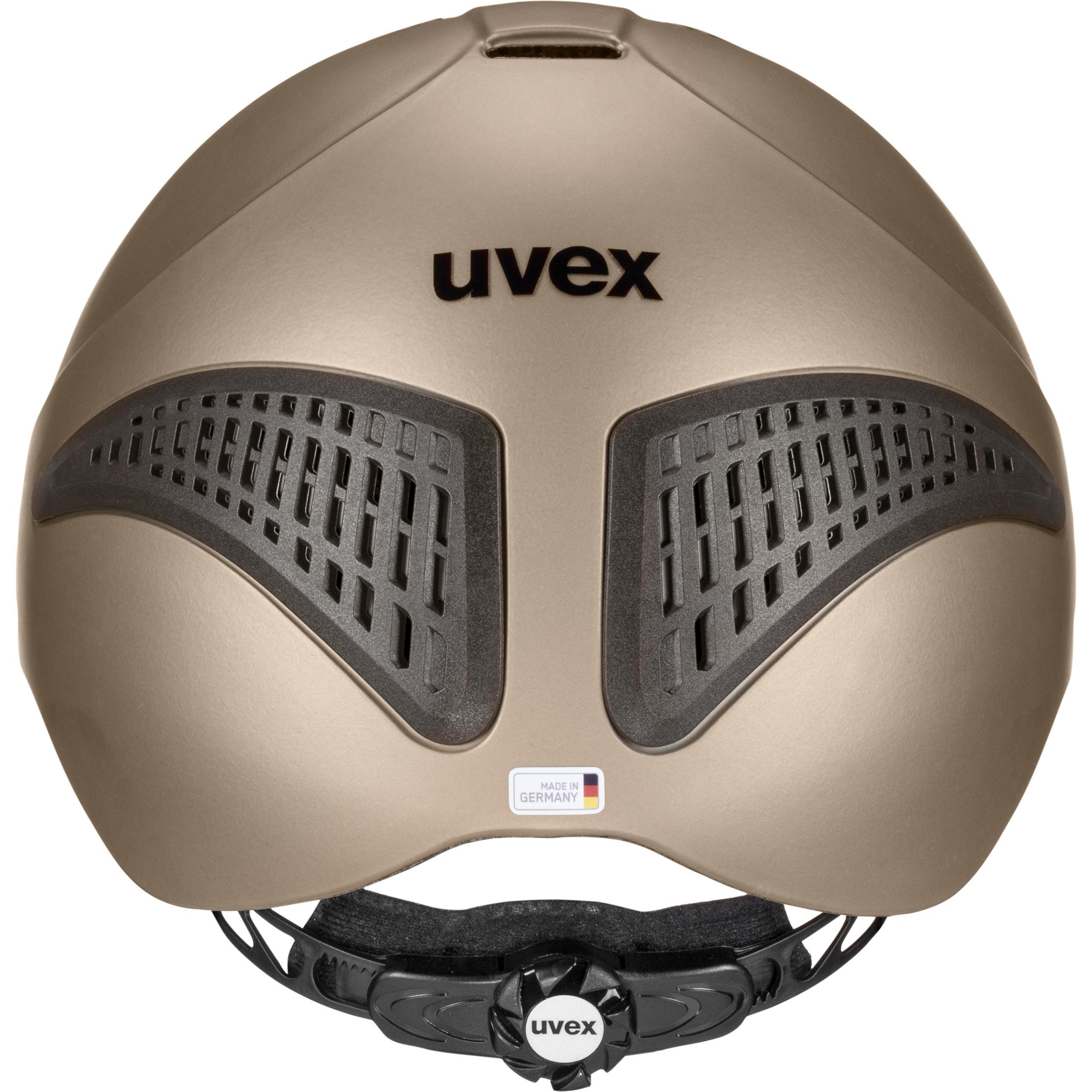 Riding cap Uvex Exxential II Fall Cap NEW Uvex Riding Helmet Exxential II Sand-mat